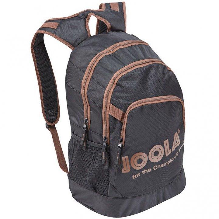 (二手)JOOLA 高級雙肩背袋 (咖啡色)