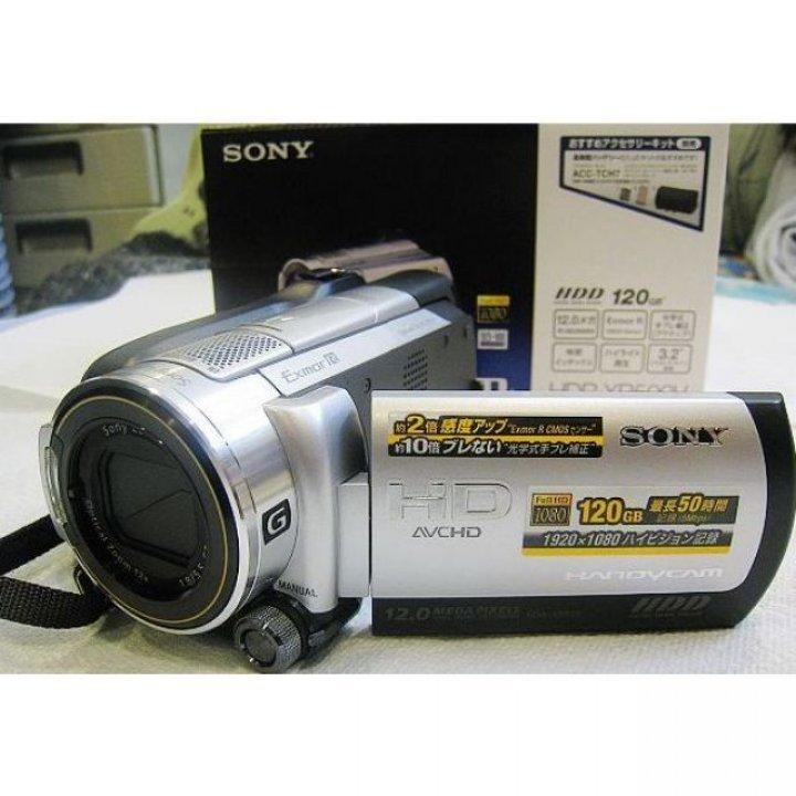 SONY HANDCAM HDR-XR500 GPS 攝影機