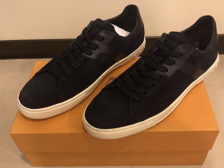 [全新] TOD'S LOGO 運動鞋 / 休閒鞋 UK:10 深藍色