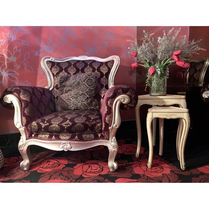 [0047] 歐式豪華單人座沙發