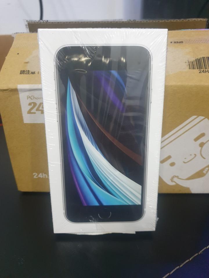 iphone se 白色 128g 全新未拆