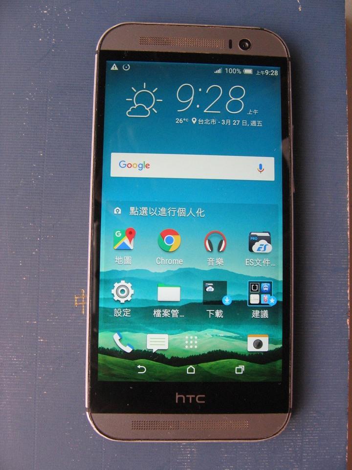 HTC 旗艦機ONE M8 88成新 賣$700