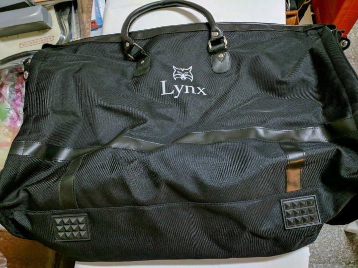 Lynx 美國山貓牌 高爾夫球運動包/旅行包/衣物包 可提可揹兩用
