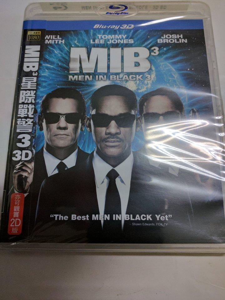 MIB 星際戰警3 (3D+2D雙碟版) 藍光BD
