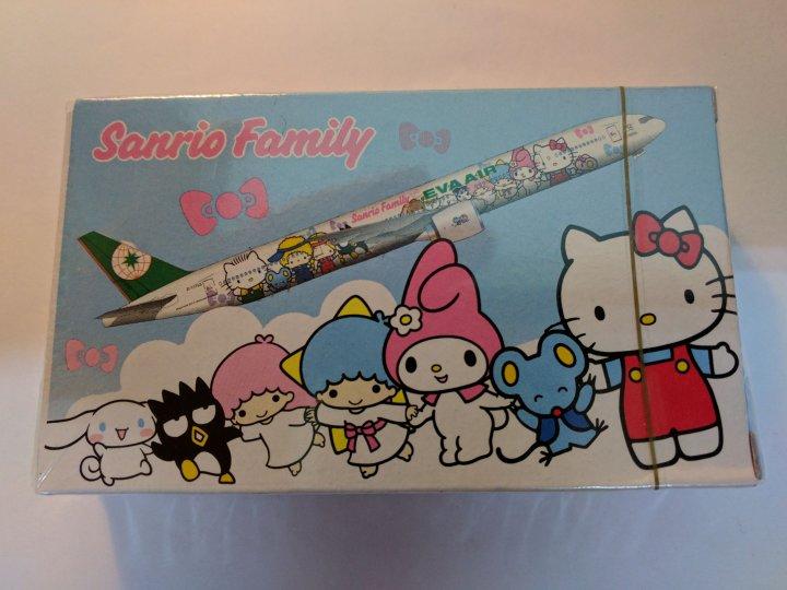 長榮航空 Hello Kitty 撲克牌