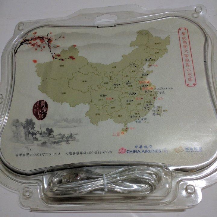 華航集團 發光 滑鼠墊 (USB)