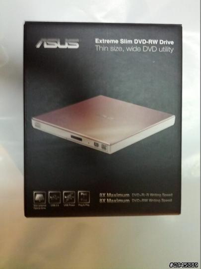 ASUS Extreme Slim EXT.DVD-RW Drive 外接式光碟機