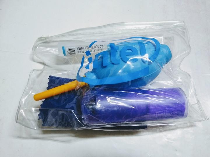 Intel 吹塵球 清潔吹球+清潔刷+拭鏡布