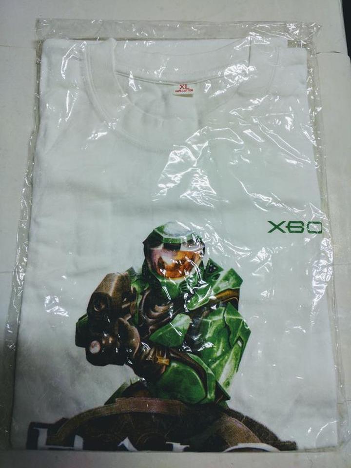 (全新) 最後一戰系列-Xbox Halo T恤 (Size: XL)