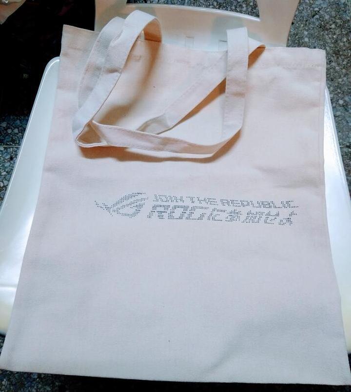 (全新) 玩家共和國 Republic of Gamers (ROG) 超厚布製環保袋 40cm x 35cm