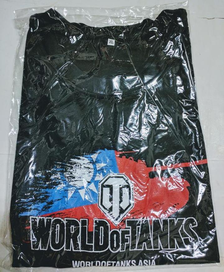 戰車世界-World of Tanks T恤 (Size: XL)