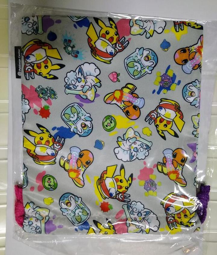 Pokemon 寶可夢 束口袋