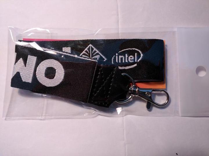 (全新) OMEN Intel 識別證帶 一條