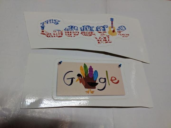 經典 Google 谷歌 貼紙