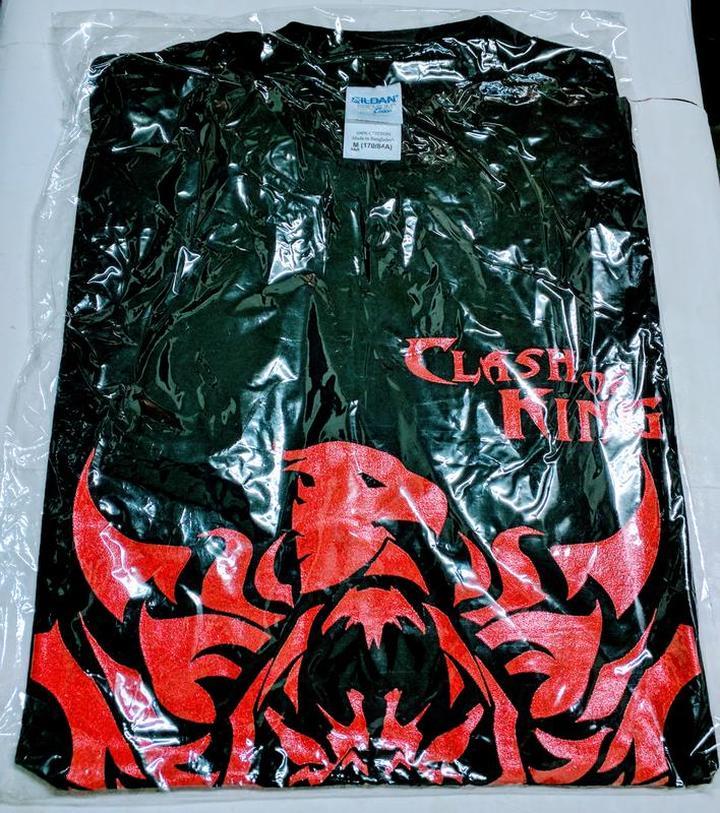 (全新) 列王的紛爭-Clash of Kings T恤 (Size: M)
