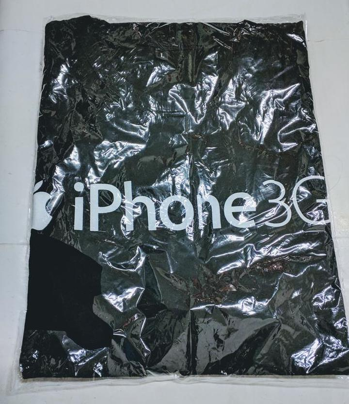 (全新) iPhone T恤 (Size: L)