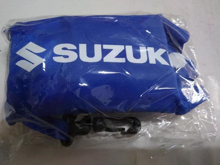 日本鈴木公司 Suzuki 尼龍環保袋鑰匙圈