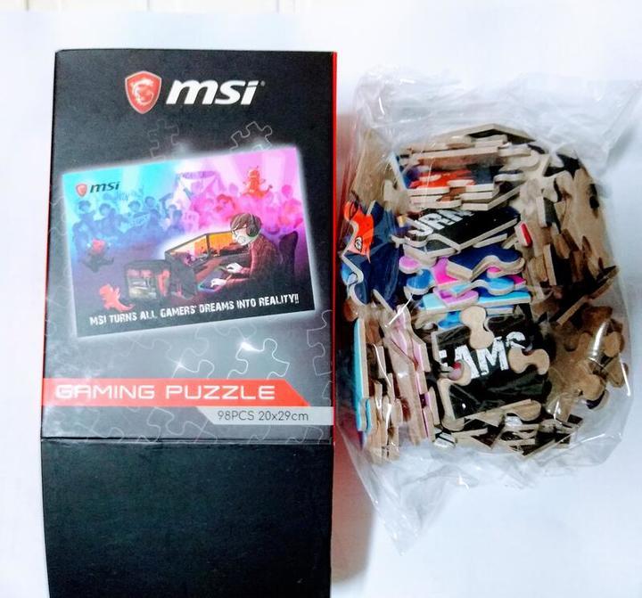 MSI 微星科技 拼圖