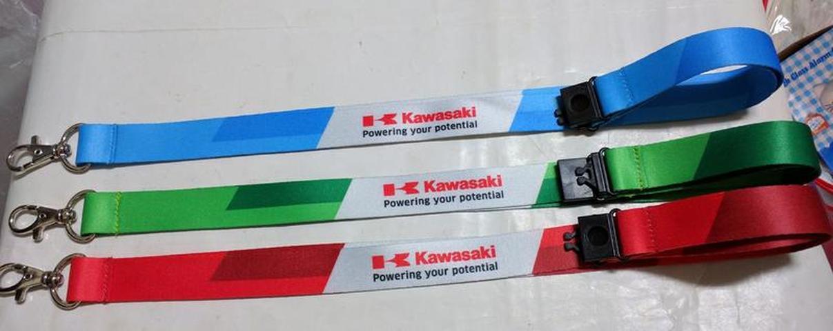 (全新) Kawasaki 日本川崎重工 相機帶 手機帶 識別證帶 (三色可選)