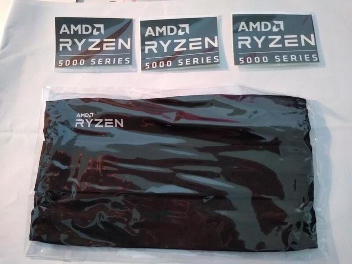 【全新】 AMD 口罩套 (防潑水可洗 + 三張 AMD 貼紙)