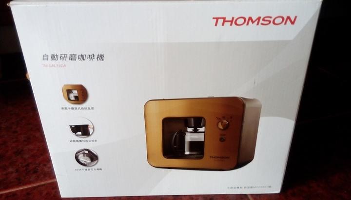 THOMSON 自動研磨咖啡機 TM-SAL15DA