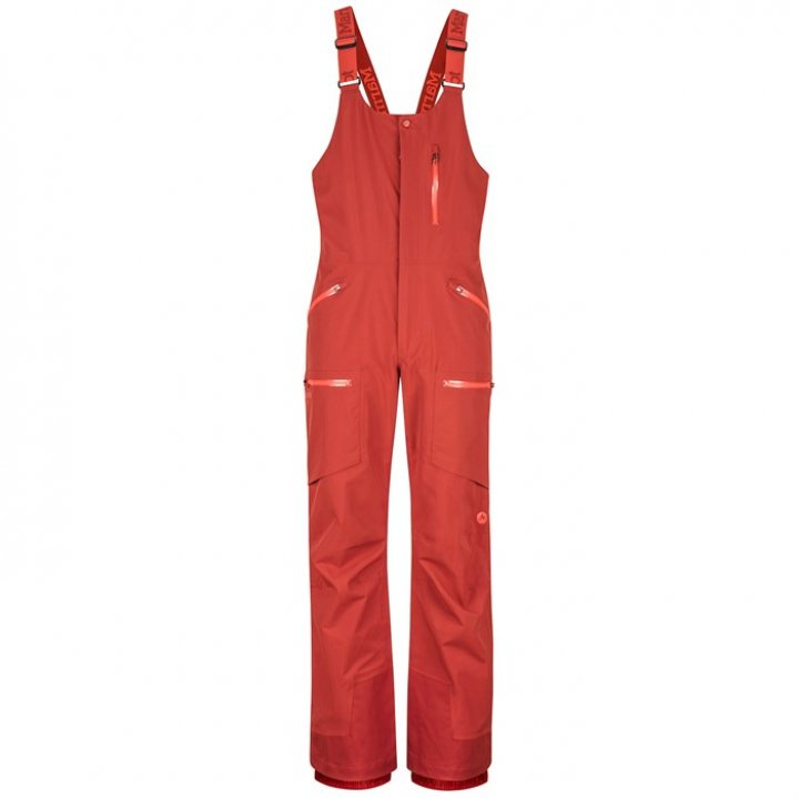 Marmot Discovery Bib Pants美國土撥鼠防水滑雪吊帶褲 男L號