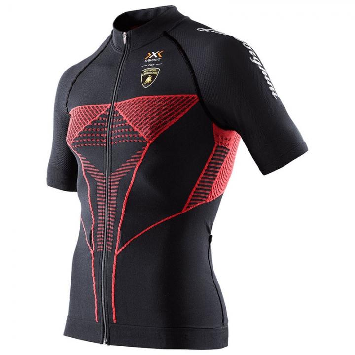 瑞士 X-BIONIC Automobil Cycling Jersey仿生科技自行車衣 Lamborghi聯名款 M號