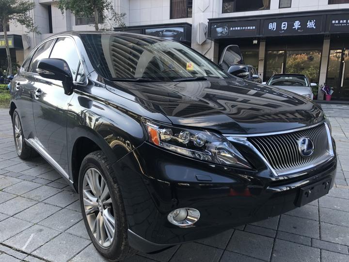 100%保證車在店 2010年LEXUS RX450H 旗艦版 里程13萬 電池已更換