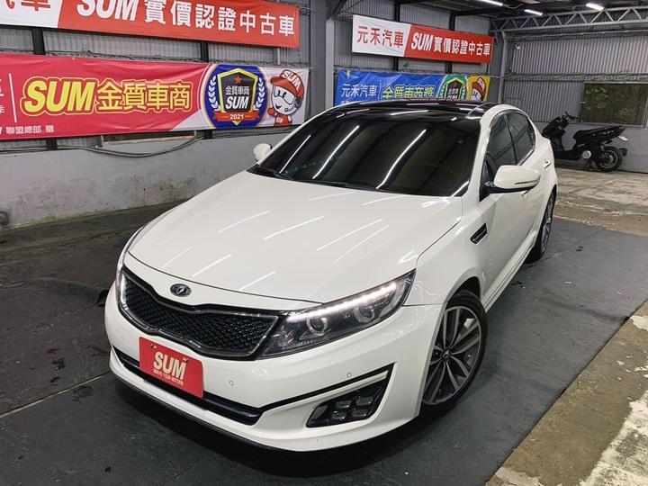 正2015式 Kia Optima 2.4 珍珠白
