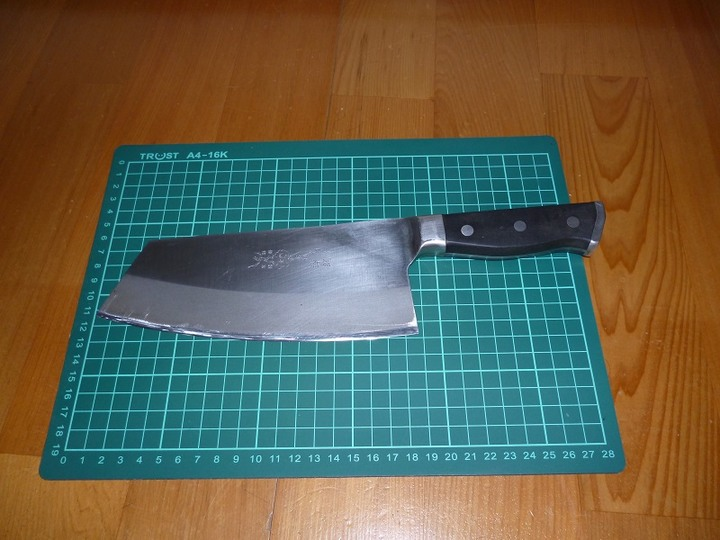 金門菜刀,肉桂刀型