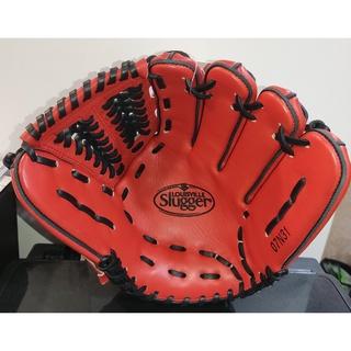 路易士威爾  Louisville slugger  Air系列 高級硬式牛皮 不織布 棒球 壘球手套 紅黑 內野 密網