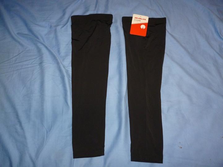 SAVA 黑色 XL 冰絲腿套