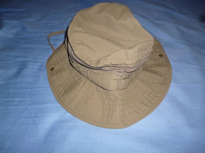 朱尼博 J7541抗UV防潑水透氣遮陽漁夫帽 (橄綠色)