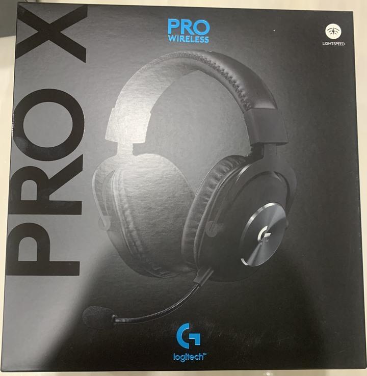 羅技ProX wireless無線電競耳機麥克風