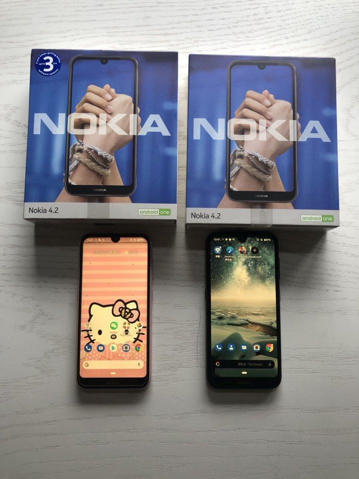 Nokia 4.2 台灣公司貨 台中可以面交 3150一台